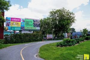 Location de panneau publicitaire